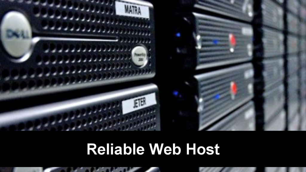 Reliable Web Host