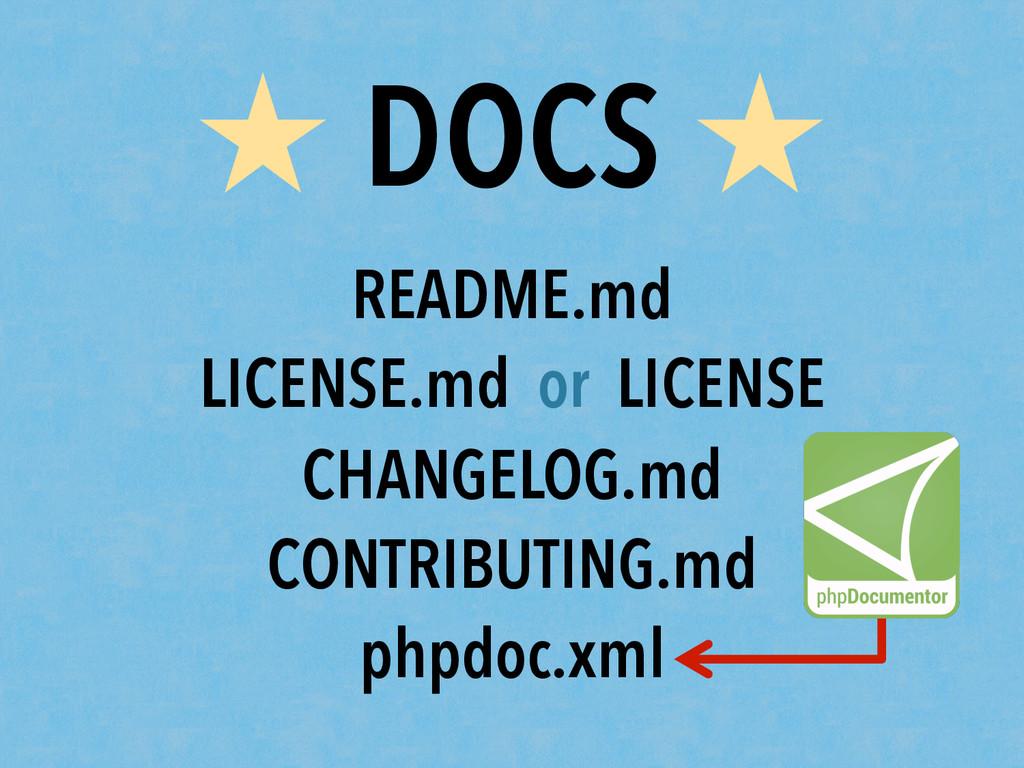 ★ DOCS ★ README.md LICENSE.md or LICENSE CHANGE...