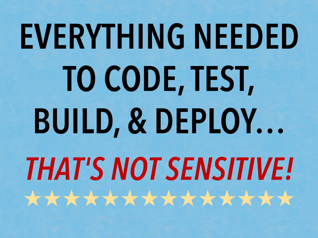 EVERYTHING NEEDED TO CODE, TEST, BUILD, & DEPLO...