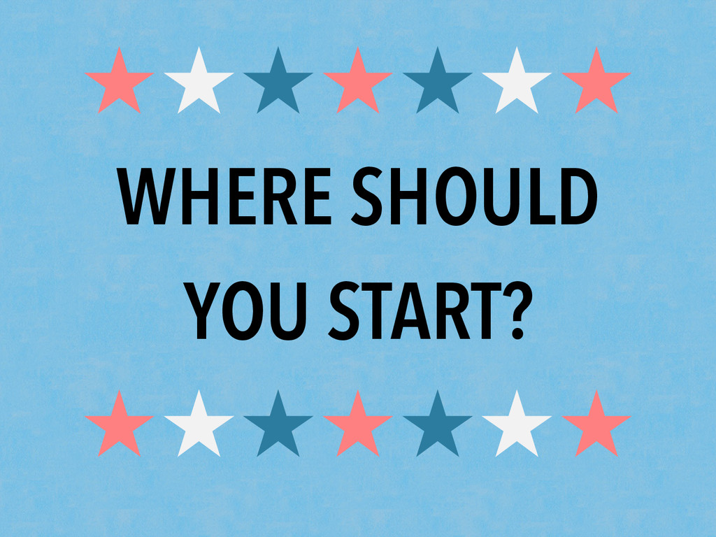 ★★★★★★★ WHERE SHOULD YOU START? ★★★★★★★