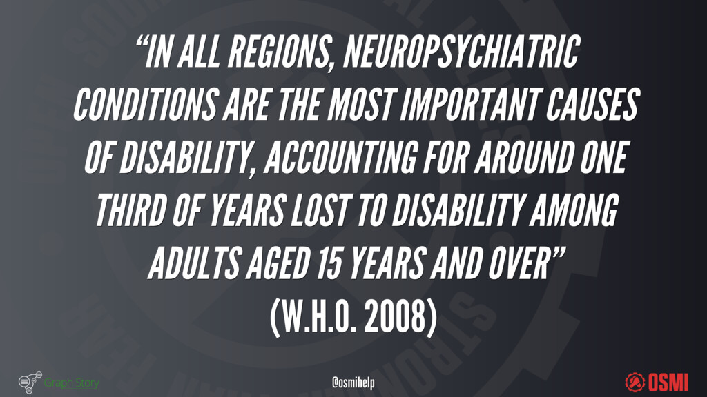 "@osmihelp ""IN ALL REGIONS, NEUROPSYCHIATRIC ..."