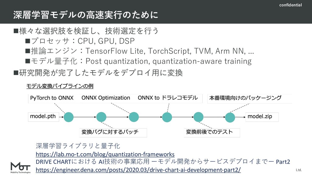 confidential Mobility Technologies Co., Ltd. n様...