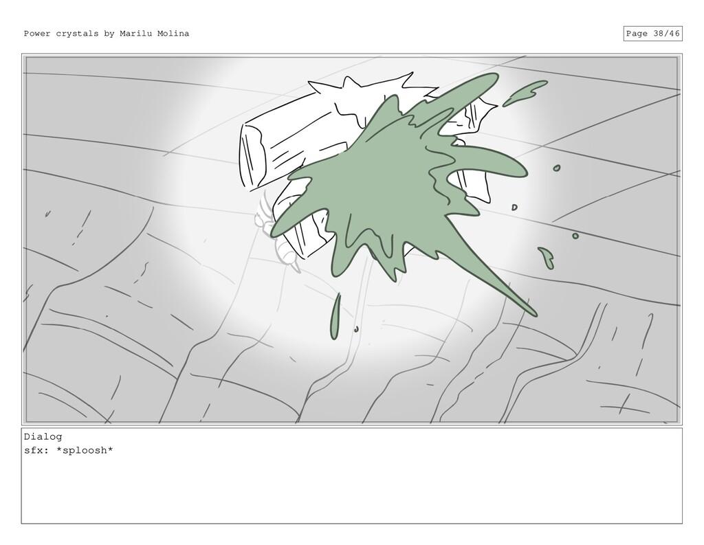 Dialog sfx: *sploosh* Power crystals by Marilu ...