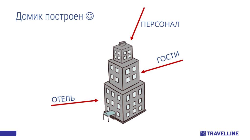Домик построен  ПЕРСОНАЛ