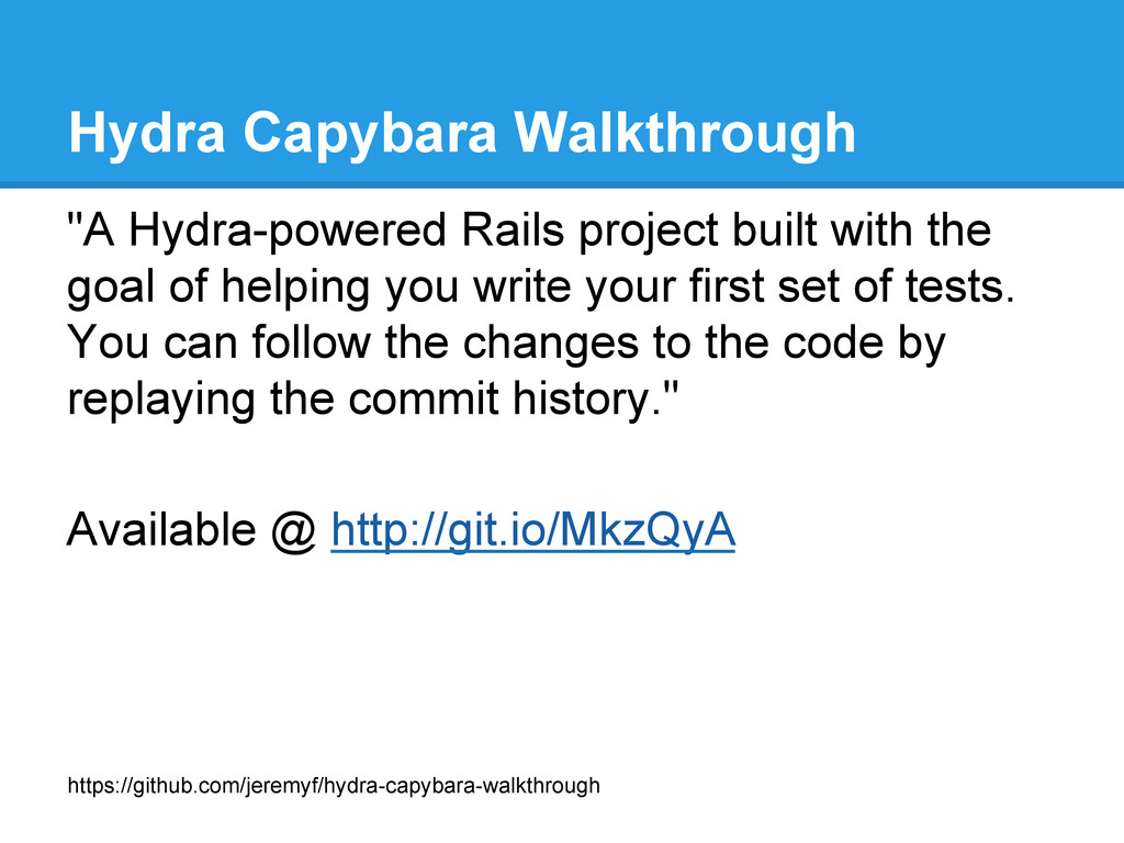 "Hydra Capybara Walkthrough ""A Hydra-powered Rai..."