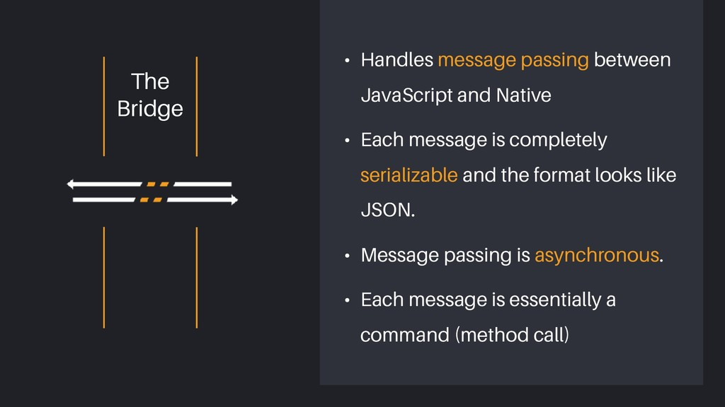• Handles message passing between JavaScript an...