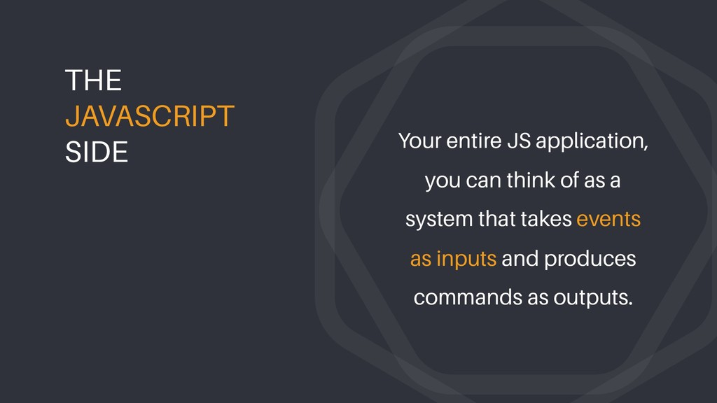 Your entire JS application, you can think of as...