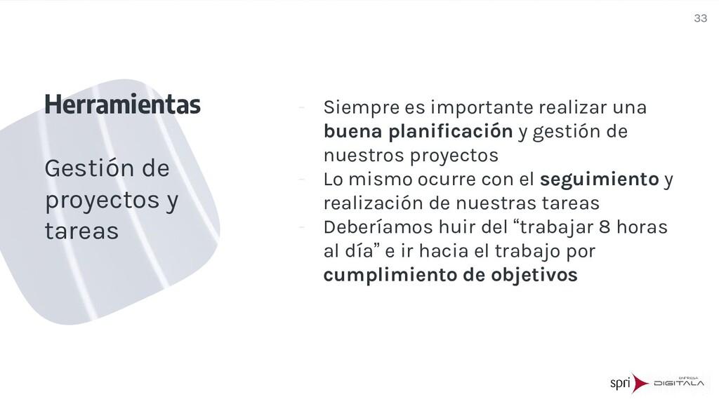- Siempre es importante realizar una buena plan...