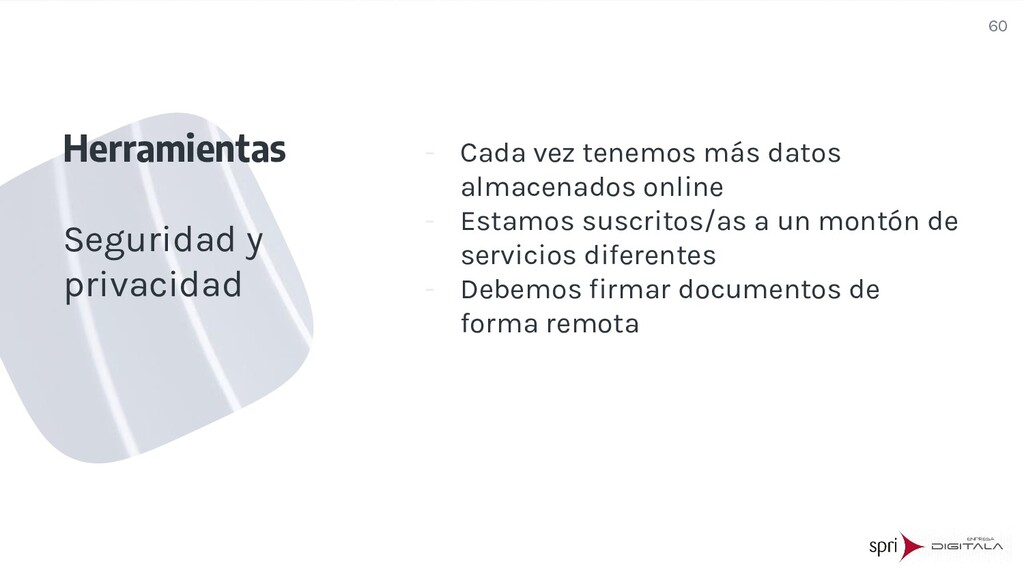 - Cada vez tenemos más datos almacenados online...