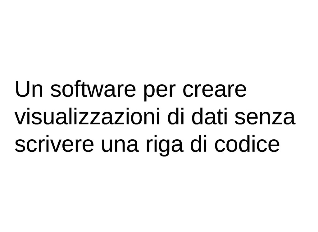 Un software per creare Un software per creare v...