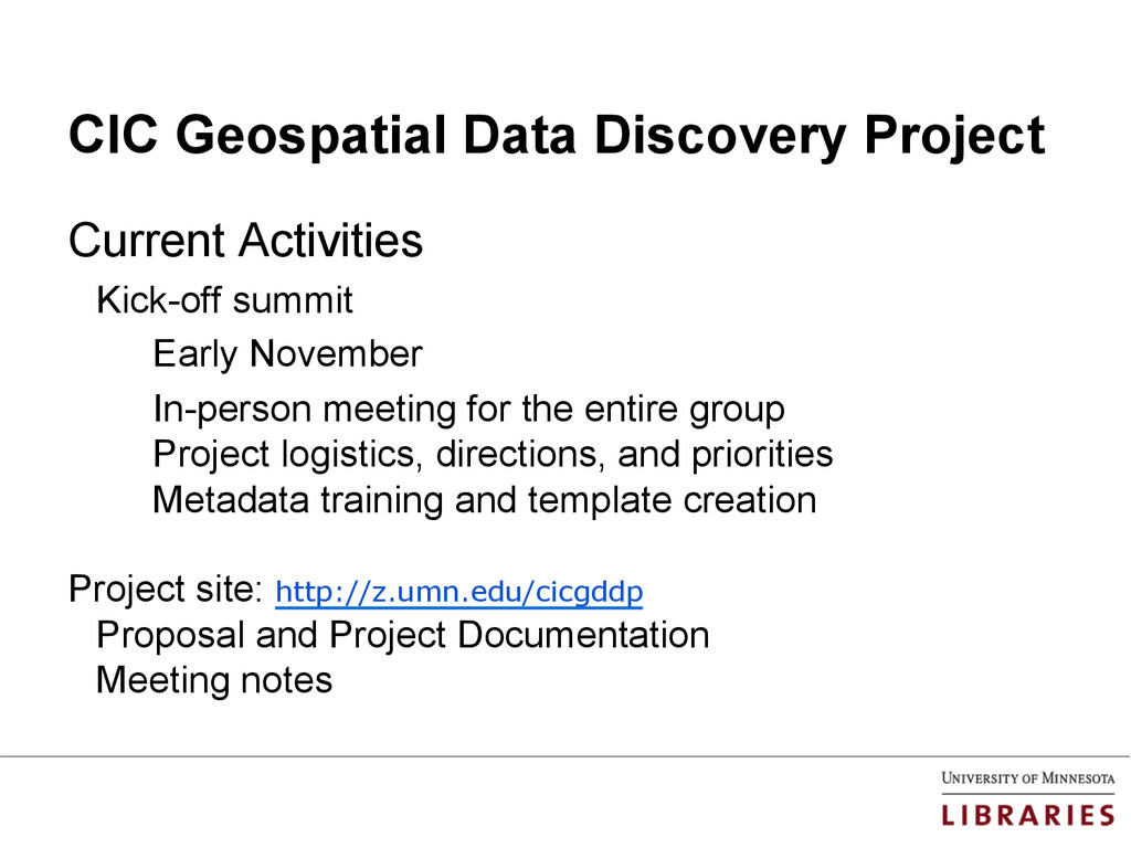 CIC Geospatial Data Discovery Project Current A...