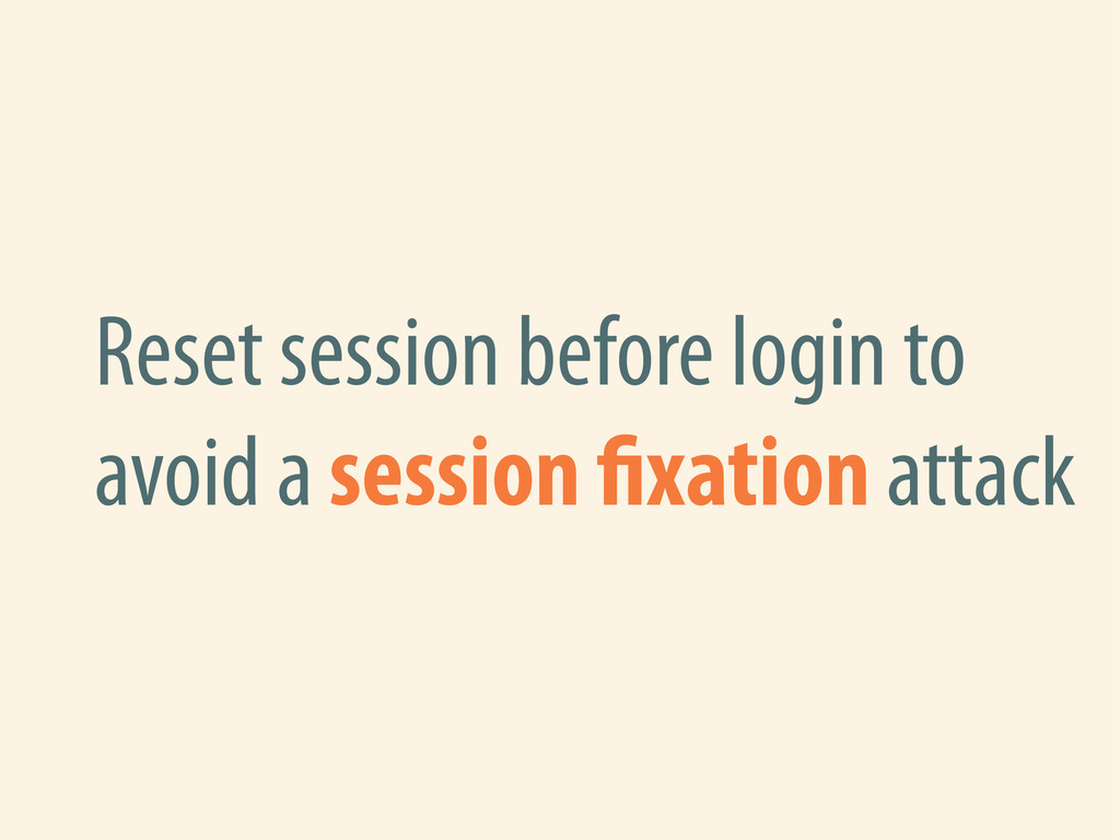 Reset session before login to avoid a session x...