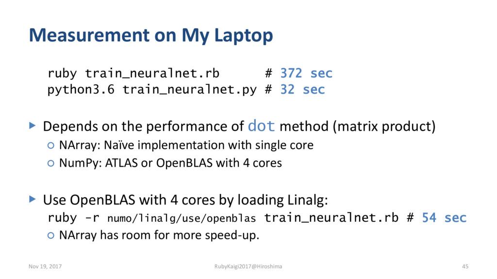 Measurement on My Laptop ruby train_neuralnet.r...