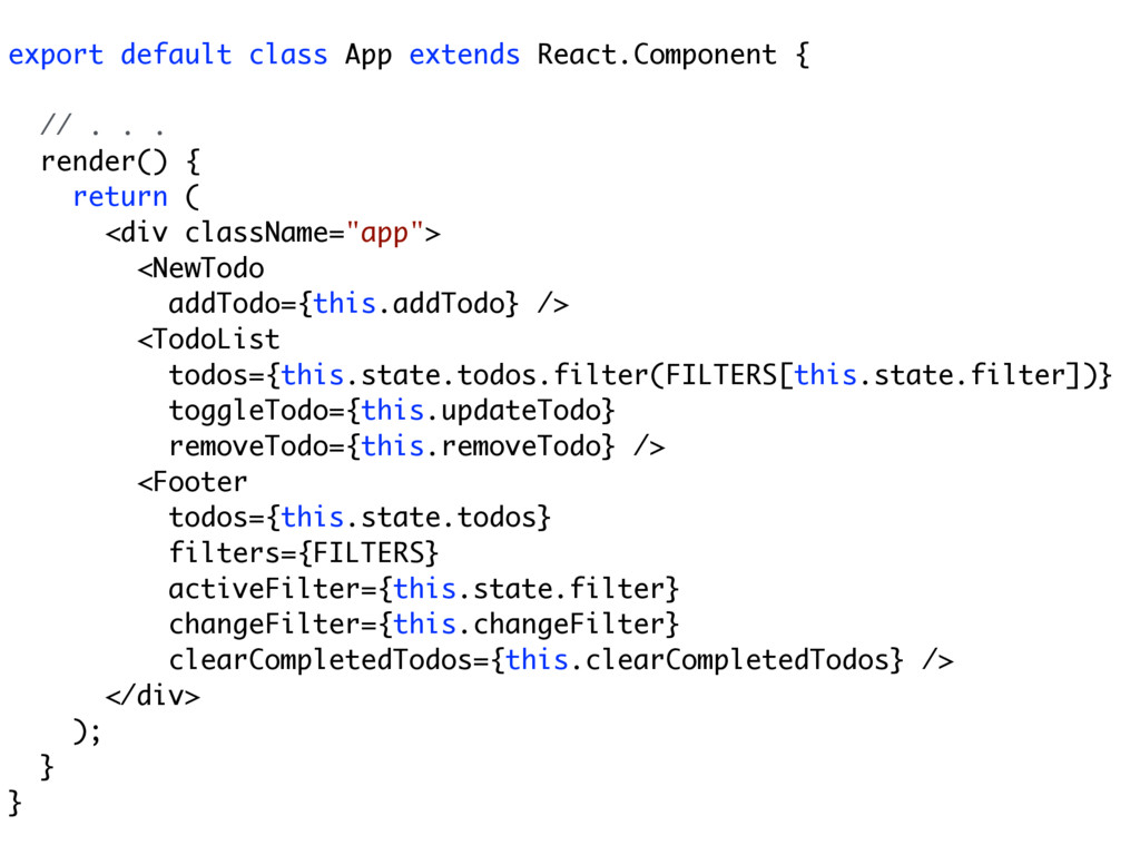 export default class App extends React.Componen...