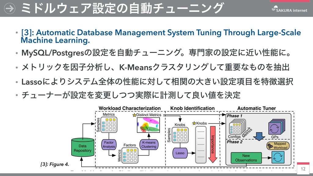12 ϛυϧΣΞઃఆͷࣗಈνϡʔχϯά ɾ[3]: Automatic Database M...