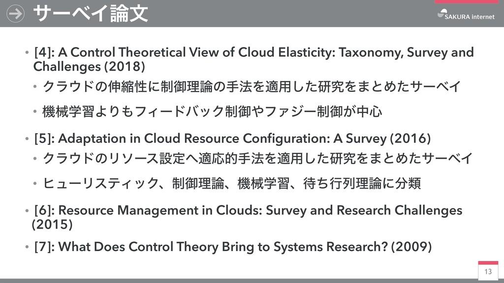 13 αʔϕΠจ ɾ[4]: A Control Theoretical View of C...