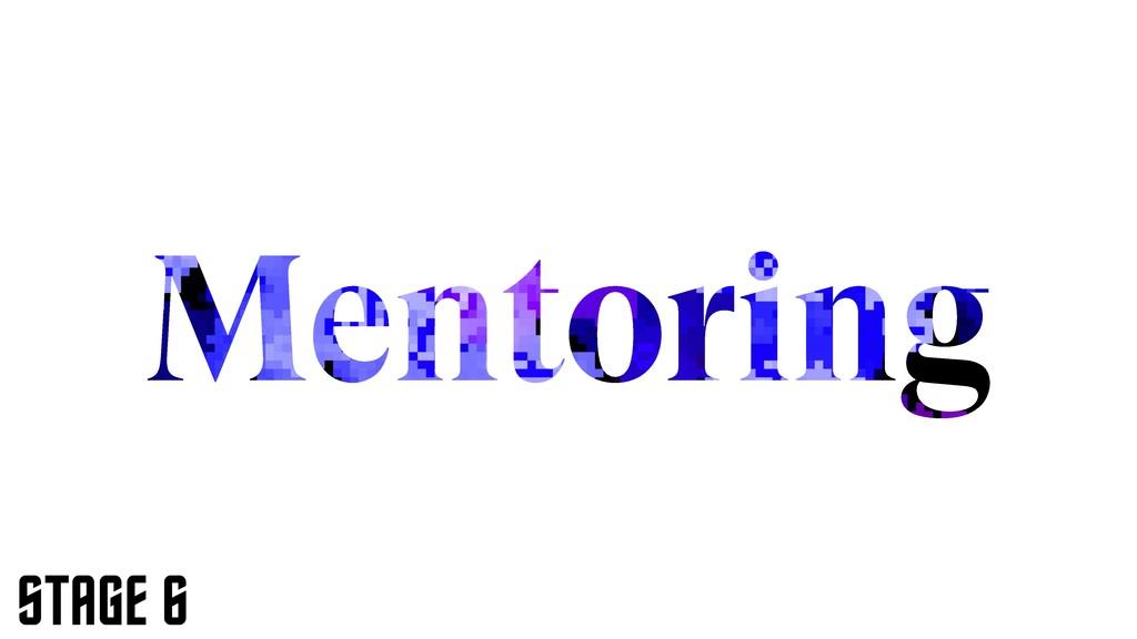 Mentoring STAGE 6