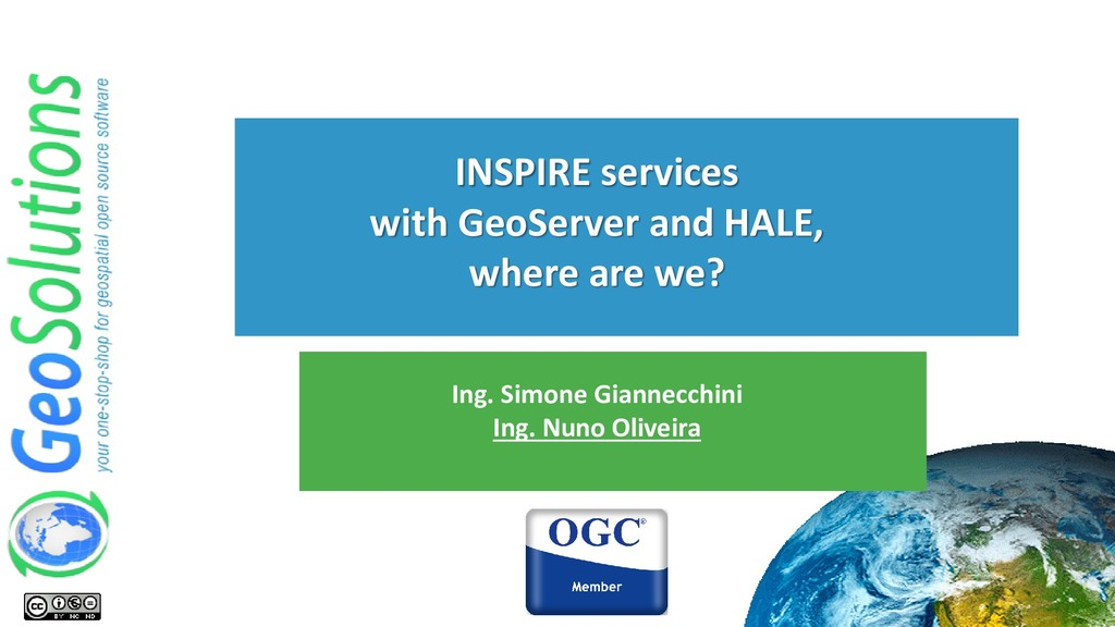 INSPIRE services with GeoServer and HALE, where...
