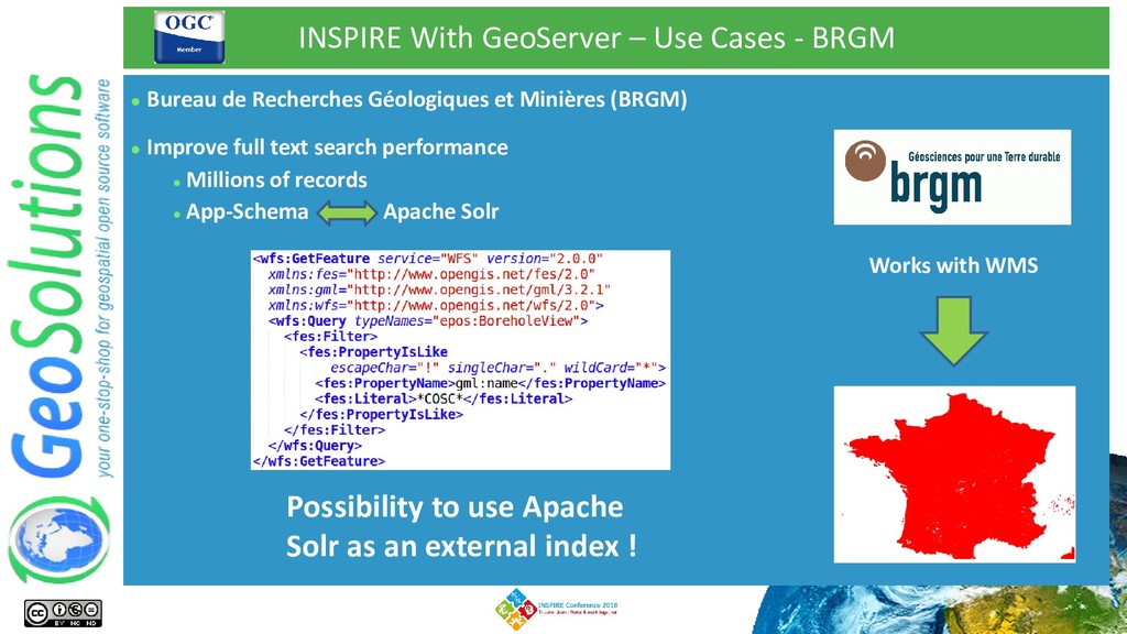 INSPIRE With GeoServer – Use Cases - BRGM ⚫ Bur...