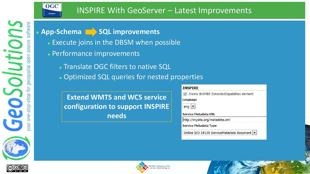 INSPIRE With GeoServer – Latest Improvements ⚫ ...