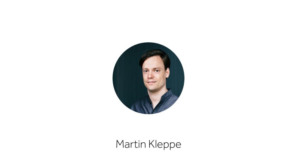Martin Kleppe