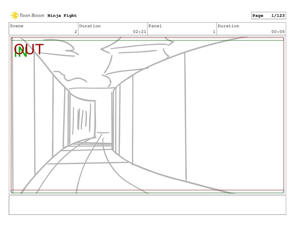 Scene 2 Duration 02:21 Panel 1 Duration 00:06 N...