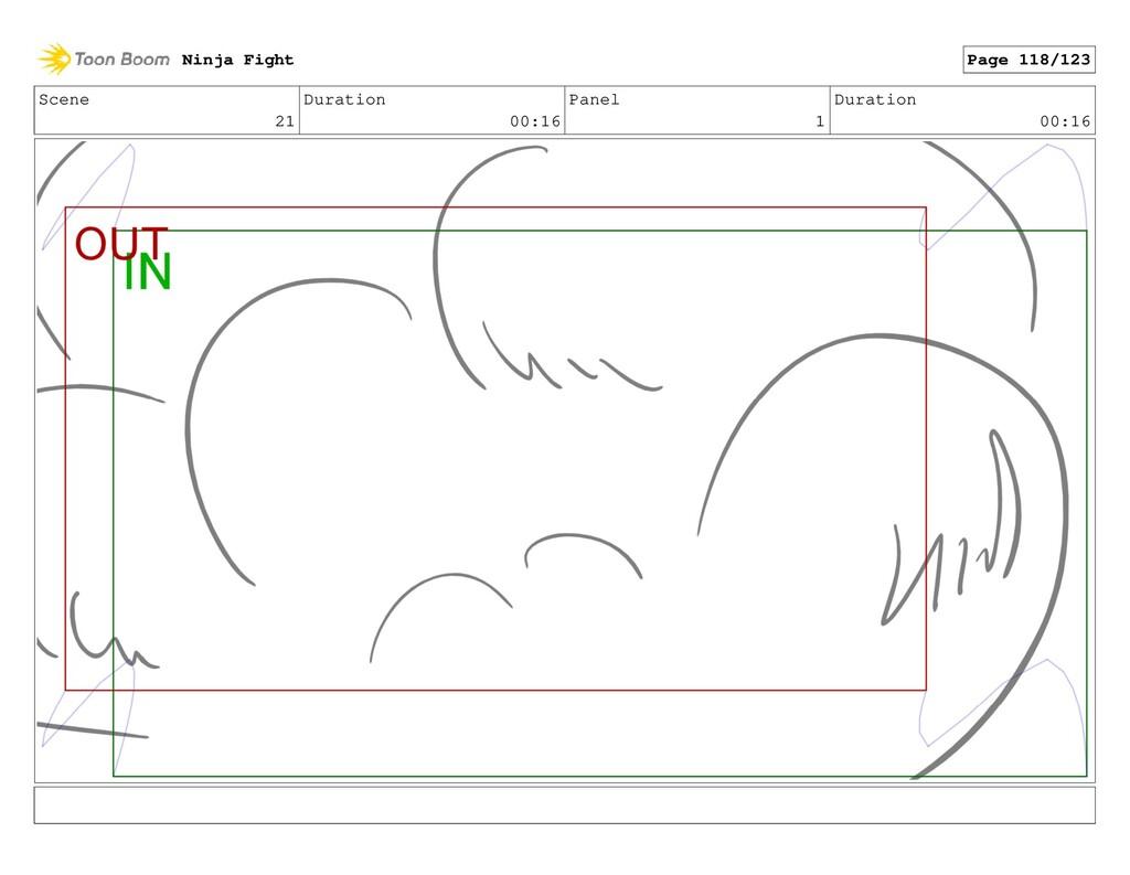 Scene 21 Duration 00:16 Panel 1 Duration 00:16 ...