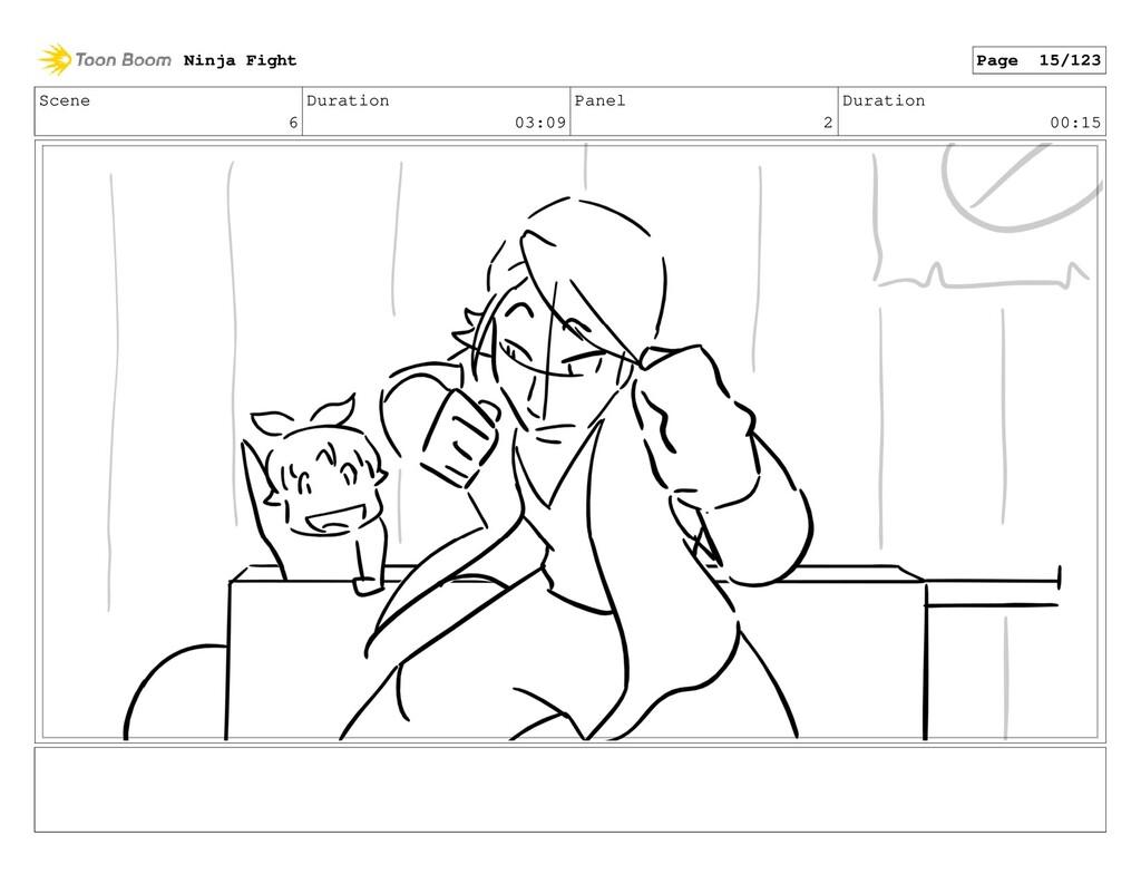 Scene 6 Duration 03:09 Panel 2 Duration 00:15 N...