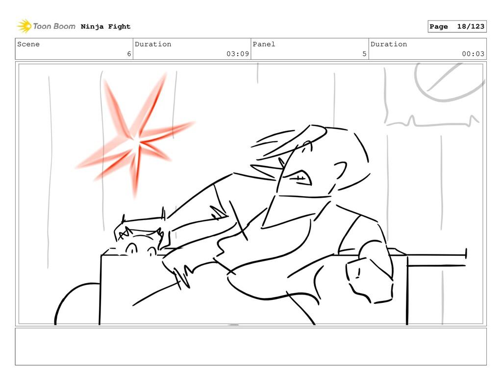 Scene 6 Duration 03:09 Panel 5 Duration 00:03 N...