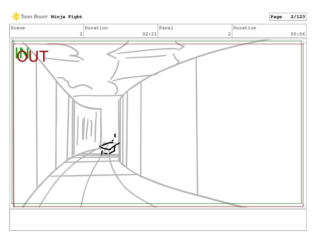 Scene 2 Duration 02:21 Panel 2 Duration 00:06 N...