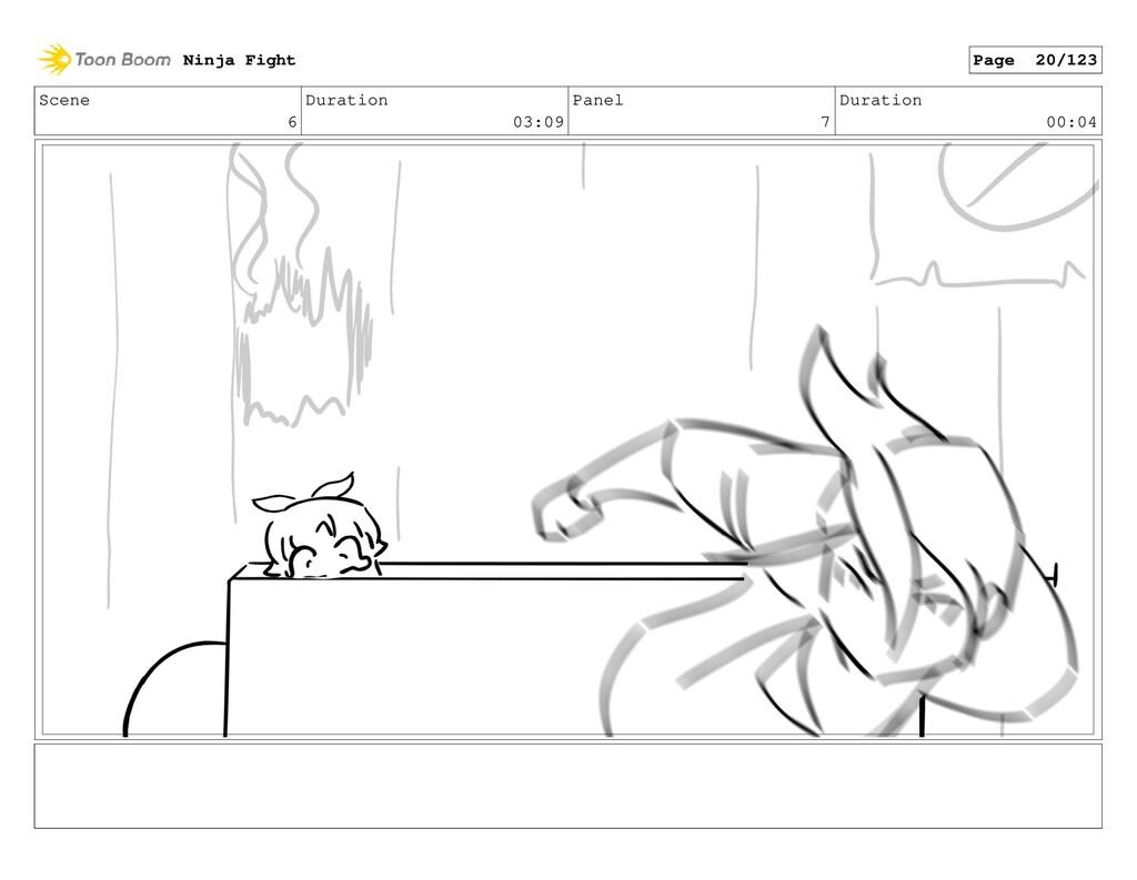Scene 6 Duration 03:09 Panel 7 Duration 00:04 N...