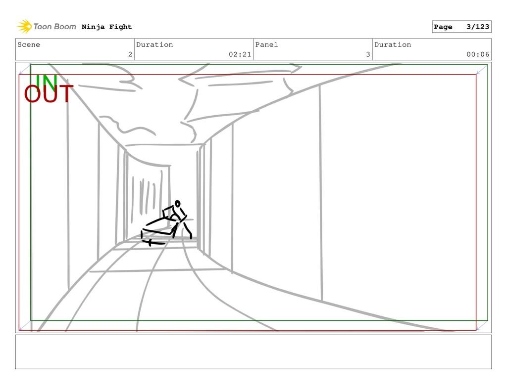 Scene 2 Duration 02:21 Panel 3 Duration 00:06 N...