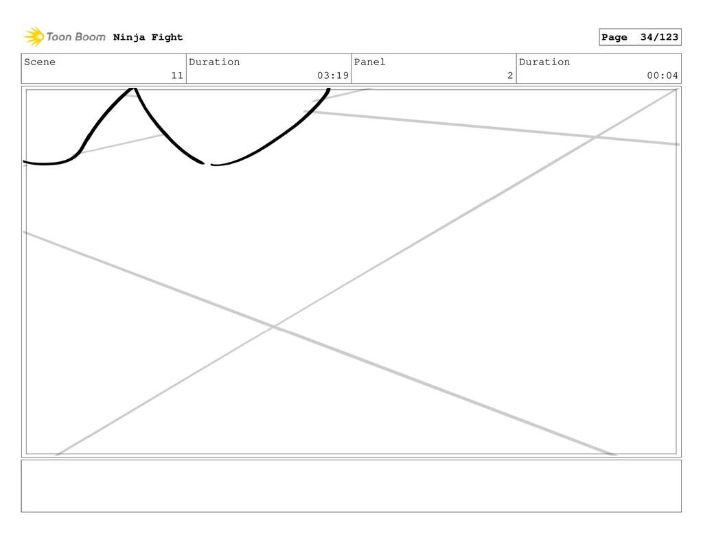 Scene 11 Duration 03:19 Panel 2 Duration 00:04 ...