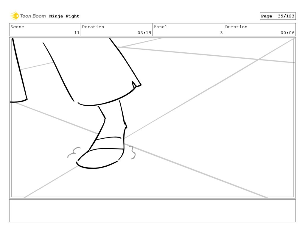 Scene 11 Duration 03:19 Panel 3 Duration 00:06 ...