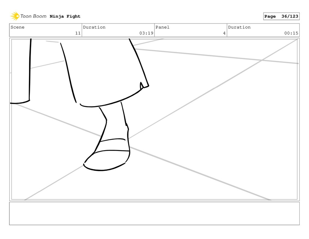 Scene 11 Duration 03:19 Panel 4 Duration 00:15 ...