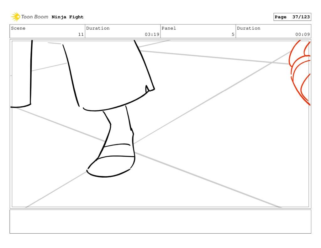 Scene 11 Duration 03:19 Panel 5 Duration 00:09 ...