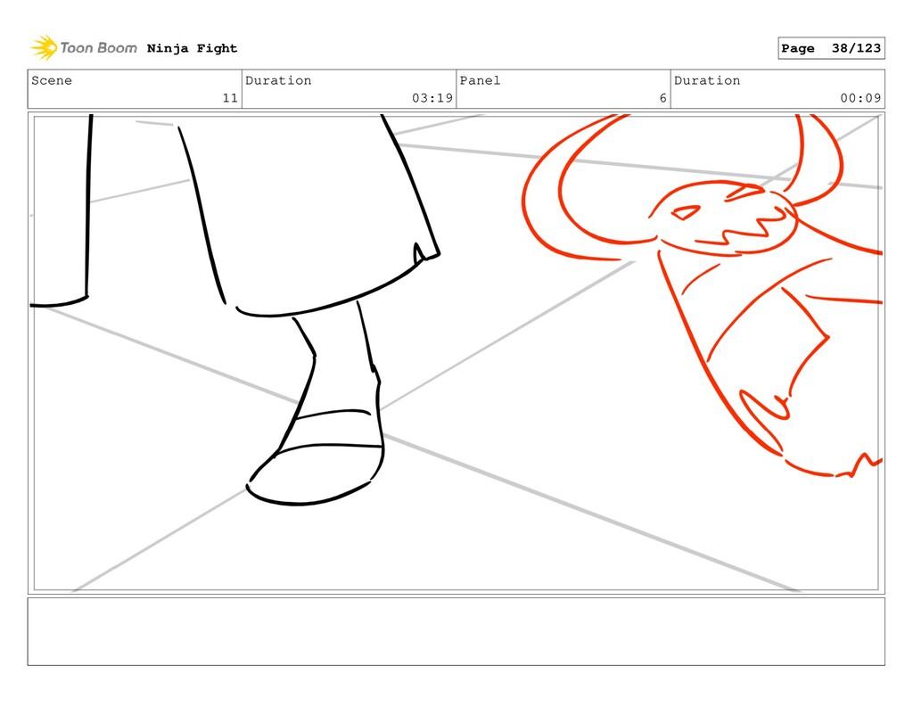 Scene 11 Duration 03:19 Panel 6 Duration 00:09 ...