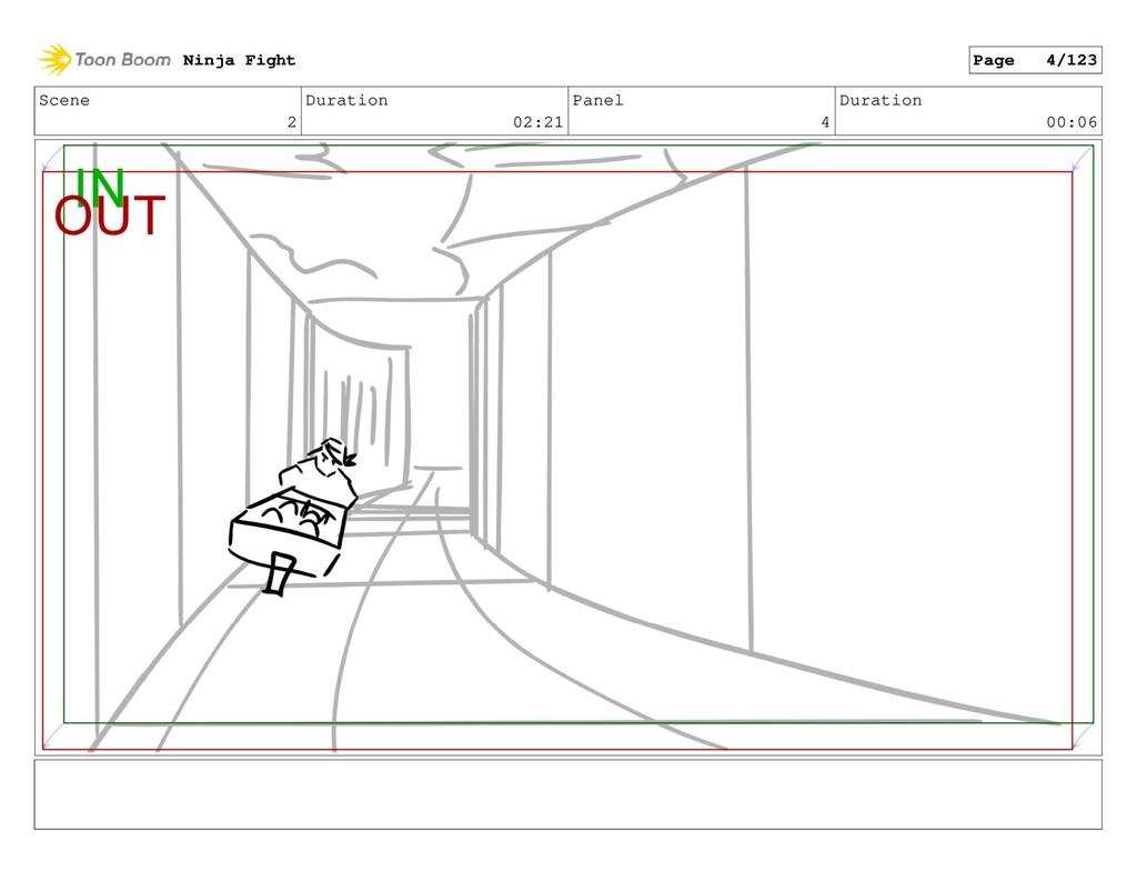 Scene 2 Duration 02:21 Panel 4 Duration 00:06 N...