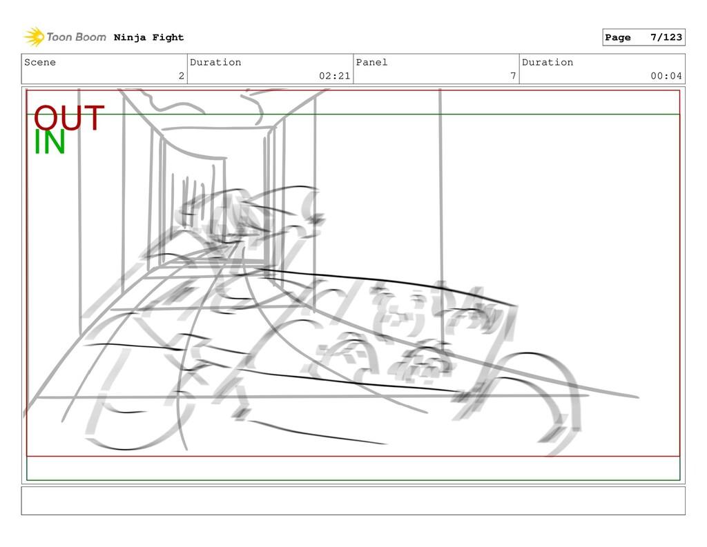 Scene 2 Duration 02:21 Panel 7 Duration 00:04 N...