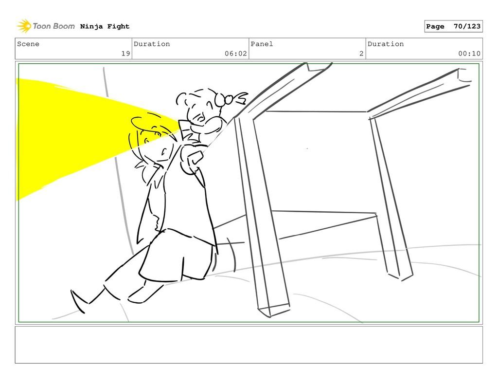 Scene 19 Duration 06:02 Panel 2 Duration 00:10 ...