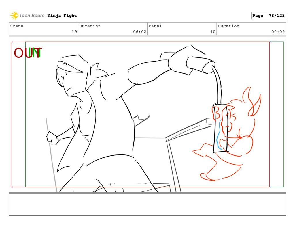 Scene 19 Duration 06:02 Panel 10 Duration 00:09...