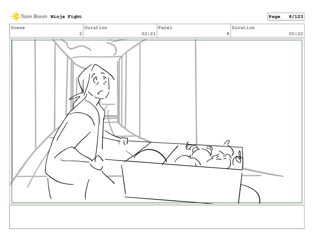 Scene 2 Duration 02:21 Panel 8 Duration 00:20 N...