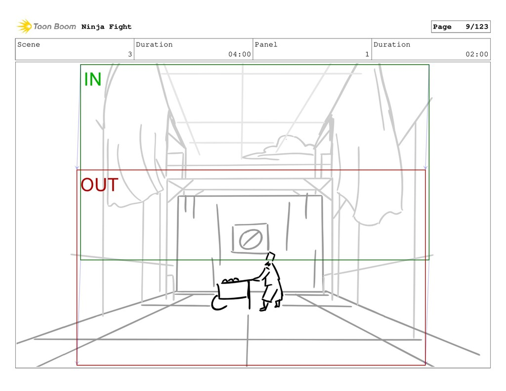 Scene 3 Duration 04:00 Panel 1 Duration 02:00 N...