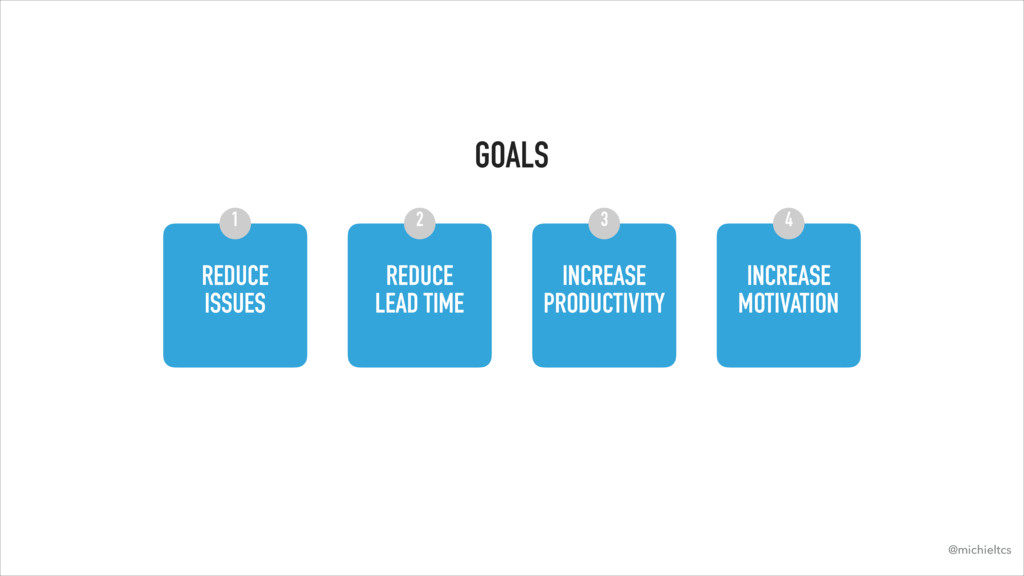 GOALS REDUCE