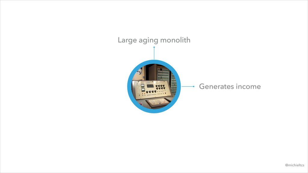 @michieltcs Large aging monolith Generates inco...