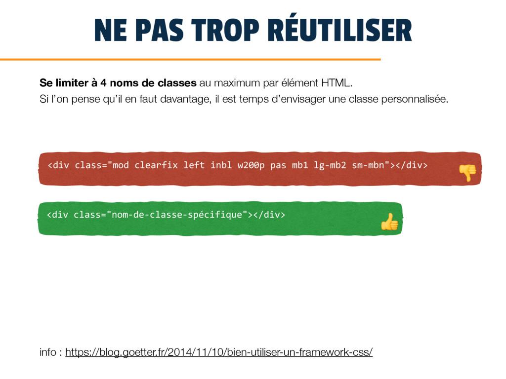 """NE PAS TROP RÉUTILISER <div class=""""mod clearfix..."""