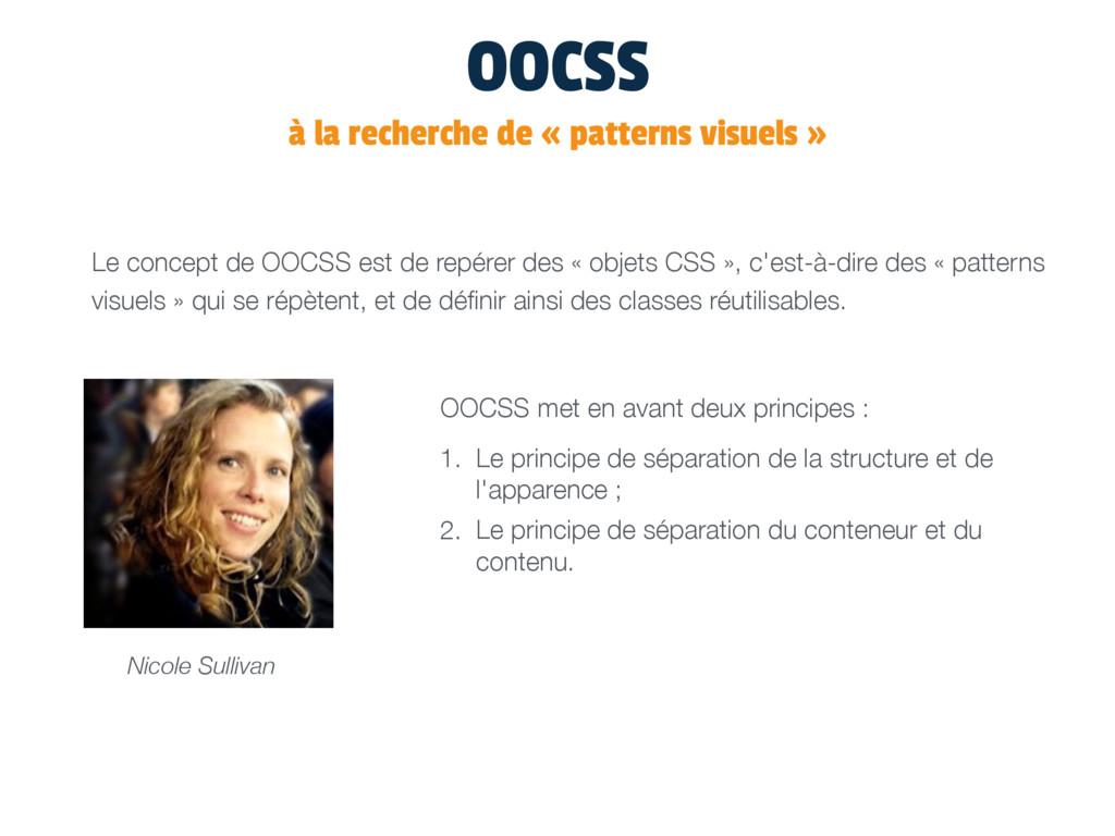 OOCSS à la recherche de « patterns visuels » Le...