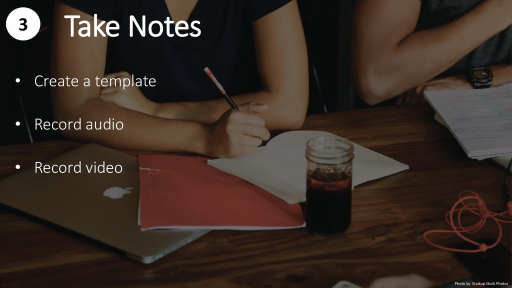 Take Notes Photo by Startup Stock Photos 3 • Cr...