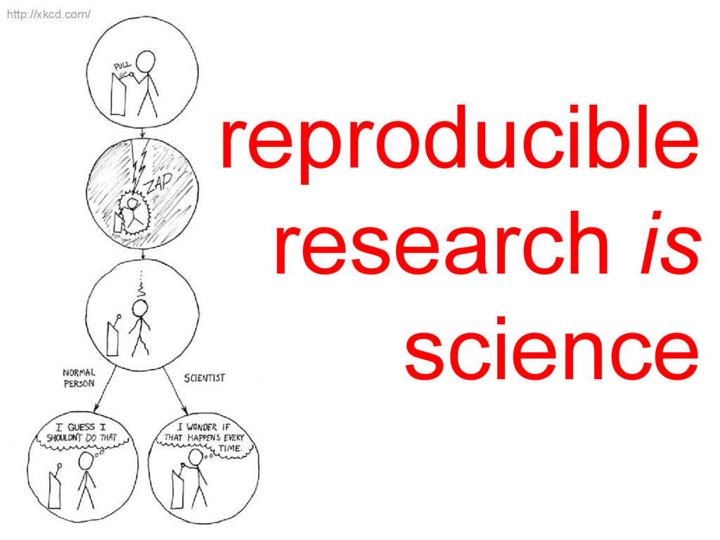 http://xkcd.com/ reproducible research is scien...