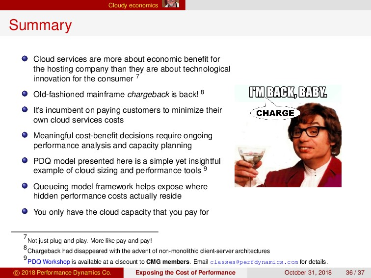 Cloudy economics Summary Cloud services are mor...